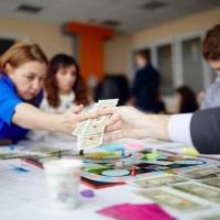 В Киеве состоялся Зимний турнир по CashFlow
